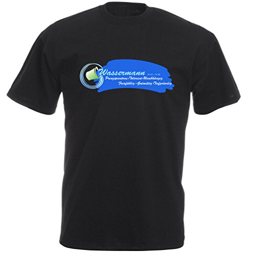 Sternzeichen T Shirt: Wassermann Sternzeichen