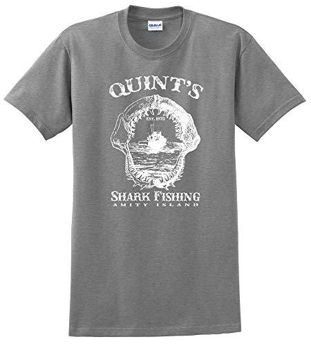 Quint's Shark Fishing - - Amity Island - EST. 1975 tee Shirt -up to 5X