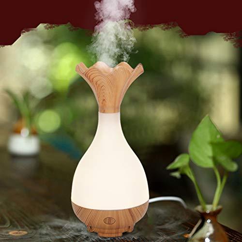 Difusor de aroma de 95 ml, humidificador fabricante de niebla, humidificador de aire USB, humidificador difusor de aroma, difusor de aceite esencial para oficina en casa, mini humidificador con luz