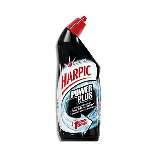 Lot de 2 Gels wc Harpic power plus surpuissant désinfectant 750ml