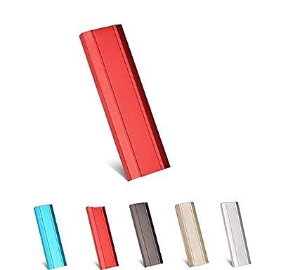 External Hard Drive 1TB 2TB, Portable Hard Drive External for PC, Laptop and Mac (Red-1TB)
