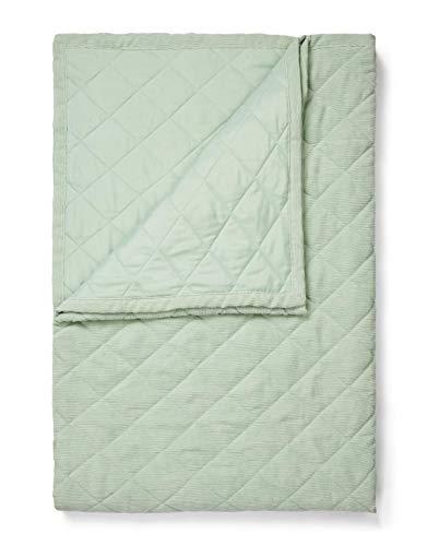 ESSENZA Quilt Billie Uni Polyester 220x265 groen