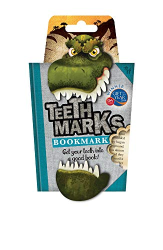 Teeth-Marks Bookmarks-T-Rex