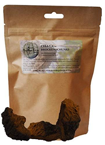 Chaga Brocken aus finnischer/nordrussischer Wildsammlung 100 Gramm