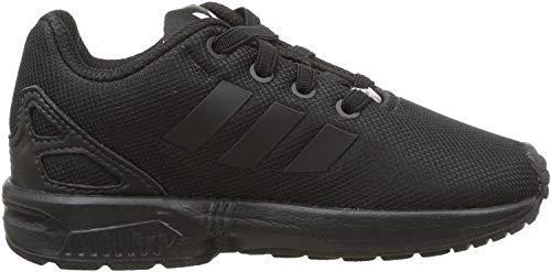 adidas Zx Flux - Sneaker Unisex - Bimbi 0-24, Nero (Eqt Blue S16/Ftwr White/Core Black), 25