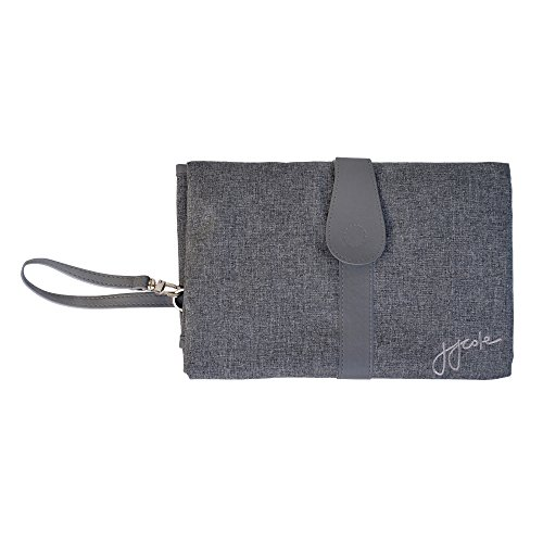 JJ Cole Infant Changing Clutch Foldable Mat Grey Gray Heather Color