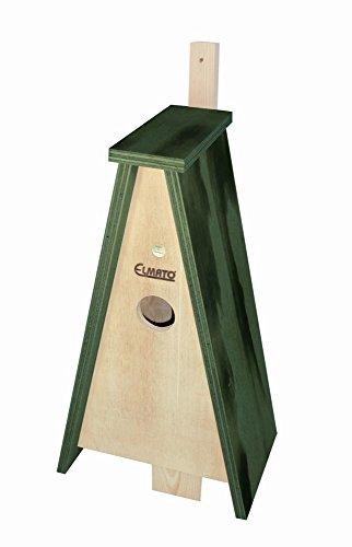 Elmato 10189 Dreieck-Nistkasten für Stare, 45 mm Loch