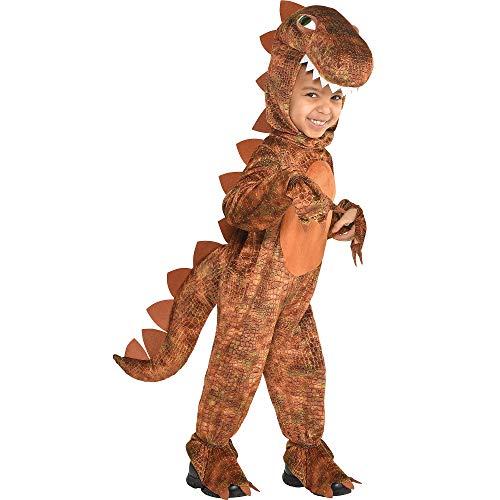 amscan Boys T-Rex Costume - Small (4-6), Multicolored