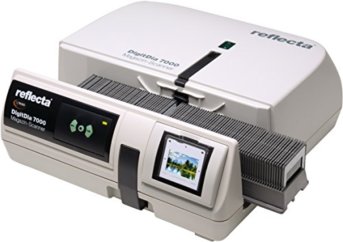 DIASCANNER MIETEN 1 Woche, Reflecta DigitDia 7000, Professionell Diascannen, HDR-Scan, Scanzeit ca. 2-3 Min/Dia, max. 10000 DPI, inkl. Erklärungsvideo