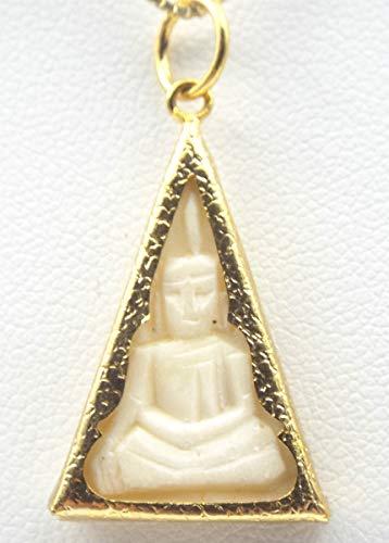 Thai Buddha Pendant Amulet Talisman Buddhist Jewelry