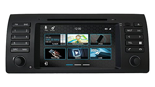 Purchase Dynavin N7-E53 PRO Radio Navigation System, for BMW X5 1999-2006