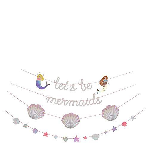 Girlanden Meerjungfrauen Party - Let's be mermaids von Meri Meri
