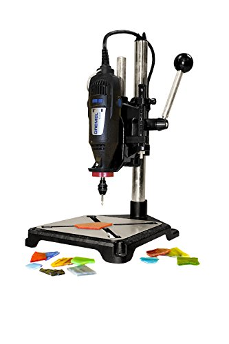 Milescraft 1097 ToolStand - Drill Press Stand (compatible with Dremel),Black