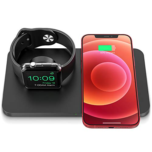 Seneo Wireless Charging Pad for iPhone and Apple Watch