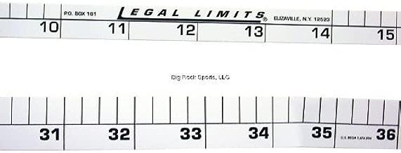 Legal Limits Límites legales W24/36Rod Reglas calcomanía Combo Pack, 61cm y 91.4cm para