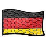 Germania Tedesca Favo Bandiera Cosplay Airsoft PVC Fan Patch Morale Fan Toppa