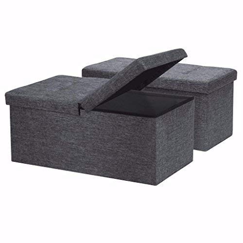 Otto & Ben Folding Storage Ottoman Bench Now $21 (Was $50)
