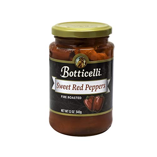Botticelli Fire Roasted Sweet Red Peppers (12oz) (2) (Roasted Peppers In Olive Oil And Garlic)