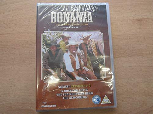 Bonanza The Official DVD Collection Serie 1 Episoden 1/2/3 Deagostini PG