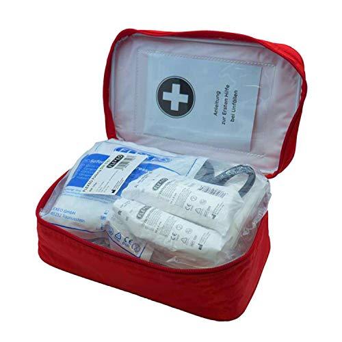 Erste-Hilfe Tasche für Betriebe | Inhalt nach DIN 13157 | Zuhause und Unterwegs | Verbandtasche | Outdoor