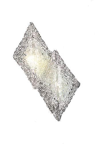 Bellart 2552/A2L V09 wandlamp design modulaire diffuser van glas, amethist, 22 x 34 x 8 cm