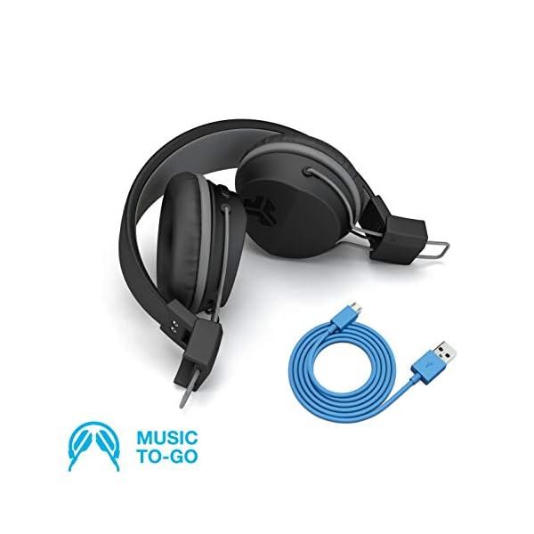 Audio Neon Headphones On-Ear Feather Light 4