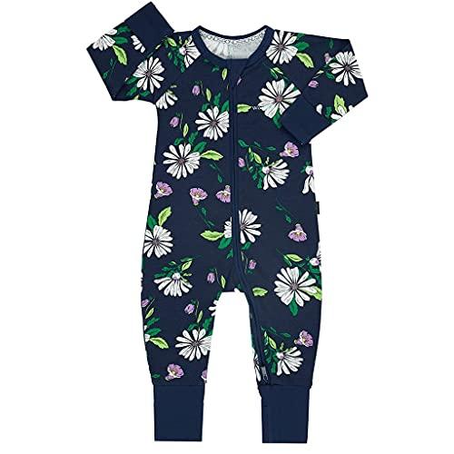 Bonds Zip Wondersuit - Breeze Floral Navy, azul marino, XX-Small