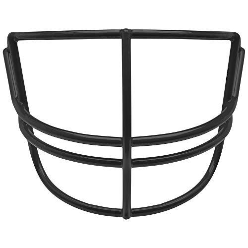 Schutt Sports Super Pro Carbon Steel Varsity NOPO Football Faceguard, Black