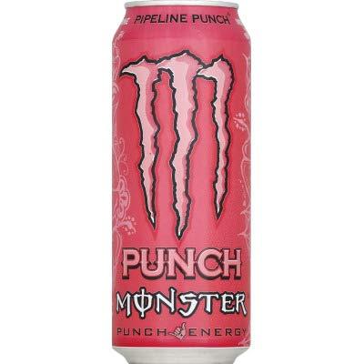Monster Energy Boisson énergisante pipeline punch - La canette de 50cl