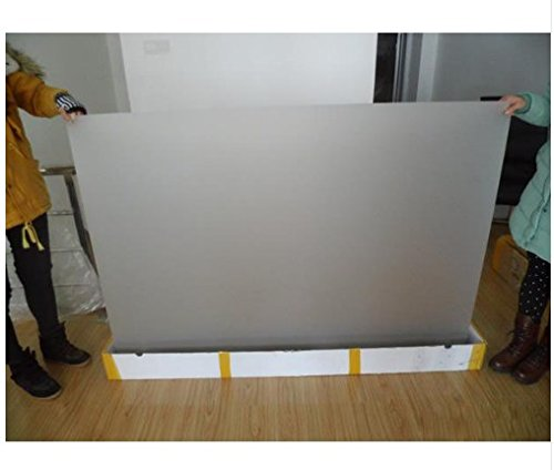 Gowe 1,5m * 10m transparent Folie, selbstklebend, hinten Projektion Holografische Projektion Bildschirm Film