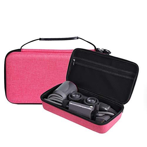 Aproca Duro Viaggio Custodia Per Dyson SuperSonic asciugacapelli (Red-Flat)