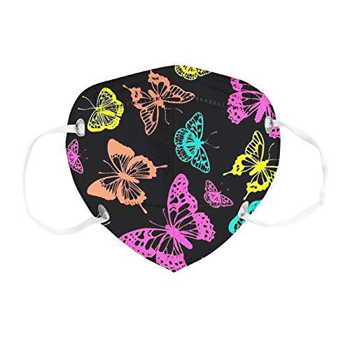 YpingLonk 10/20/30/50/100 Uds Bufanda Unisex con Estampado Floral para Adultos para Mujeres y Hombres Moda Universal Lindo para el Trabajo Diario al Aire Libre