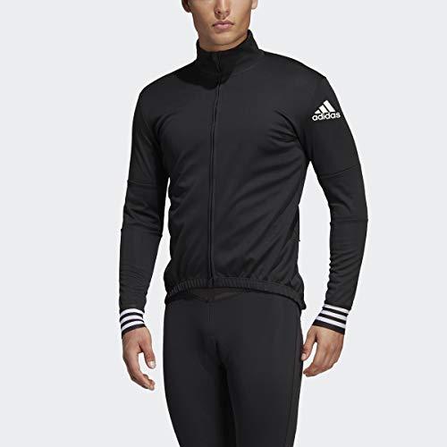 adidas Adistar Long Sleeve Camisa, Negro, Medium para Hombre