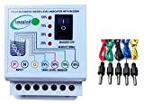 Automatic Water Level Indicator With Overflow Buzzer Sound. With Stop Buzzer Push Button. and 5 Sensor. Four Level water Indication 25%, 50% ,75%, 100%, ,Micro Controller Based Design ,Buzzer off Button For Sound Off Buzzer . Very Easy to Install and...