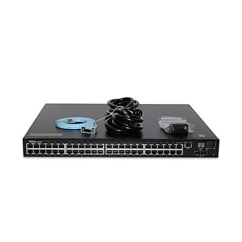Dell Networking N2048P 48P 1GbE 1738W PoE+ 2P SFP+ Switch N2048P (Renewed)