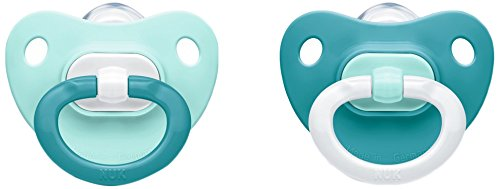 Nuk Classic Fashion Set of 2 Baby Dummies for Baby Boy, Size 1