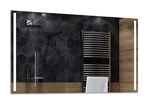 ALASTA® Miroir   LED Miroir Murale   150x60cm   Paris   Nouvelle Génération Miroir avec Accessoires   Blanc Froid/Chaud en Option