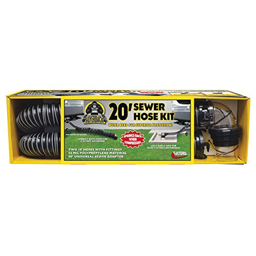 Valterra D04-0675 20' Silverback Sewer Hose Kit