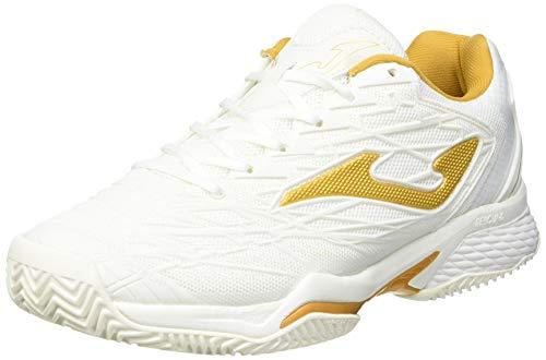 Joma Ace Pro, Zapatos de Tenis Mujer, Blanco, 39 EU