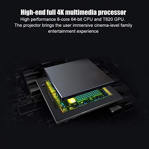 DAUERHAFT Proyector portátil 2G para proyector DLP para LED RGB para DLP 0.3 Pulgadas DMD(Transl)