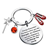 CENWA Inspirational Gift Always Remember You Have Within You The Strength Keychain (Always Remember Wizard k)