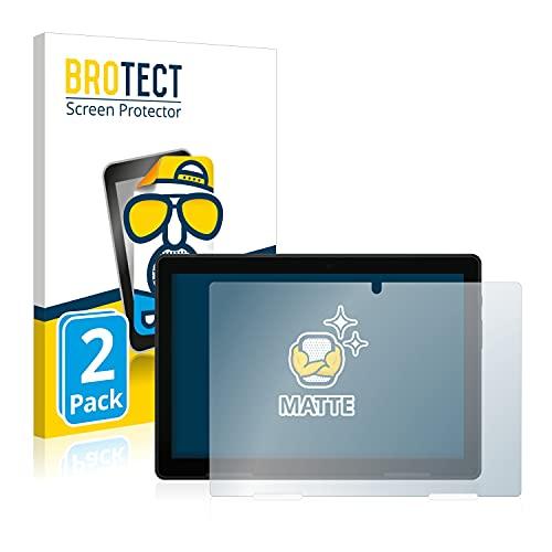 BROTECT 2X Entspiegelungs-Schutzfolie kompatibel mit Medion Lifetab E10802 Bildschirmschutz-Folie Matt, Anti-Reflex, Anti-Fingerprint