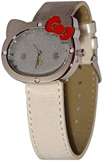 Reloj Hello Kitty de Sanrio D-cut - Blanco brillante