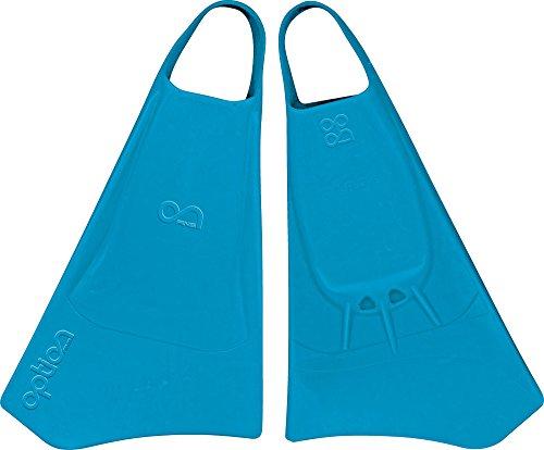 Option Aletas de Bodyboard Azul Azul Talla:Medium