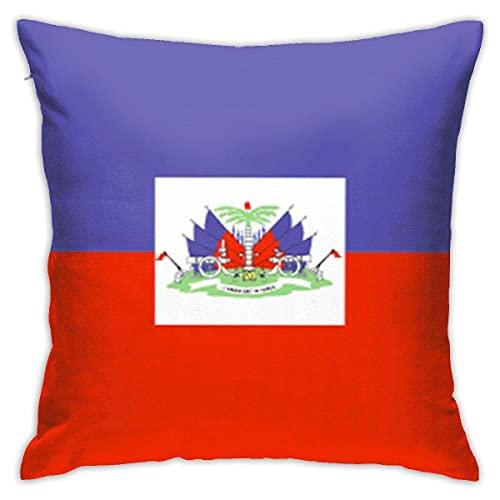 N \ A Haiti-Flagge Fashion Kissenbezüge Dekorative Kissenhülle