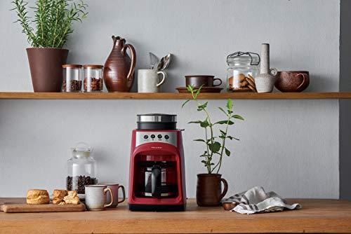 レコルトグラインドアンドドリップコーヒーメーカーフィーカ[レッド/RGD-1]recolteGrind&DripCoffeeMakerFIKA