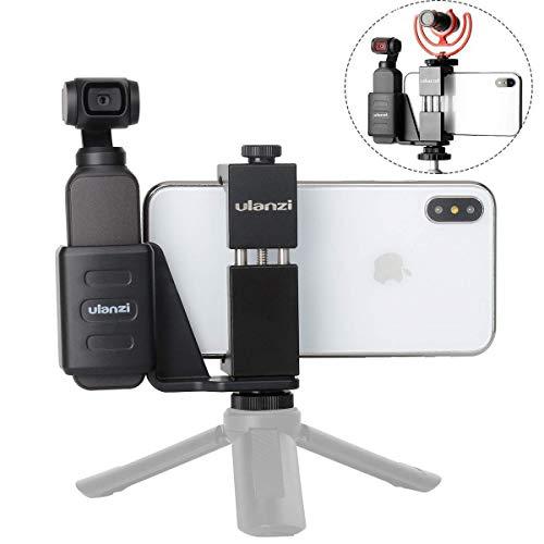 Accessoires voor DJI OSMO Pocket Camera - ULANZI OP-1 Mobiele Telefoon Statief Houder Bevestiging Stand Beugel Set met Statief Koude Schoenhouder voor OSMO Pocket Gimbal vlogging