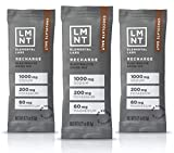 LMNT Recharge Electrolyte Hydration Powder | Formulated by Robb Wolf and Ketogains | Keto & Paleo | No Sugar, No Artificial Ingredients | Chocolate Salt | 30 Stick Packs…