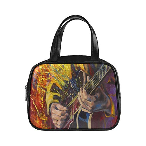 Bolso de mano Jazz Rock Cool Guitarra eléctrica para niño Bolsa de...
