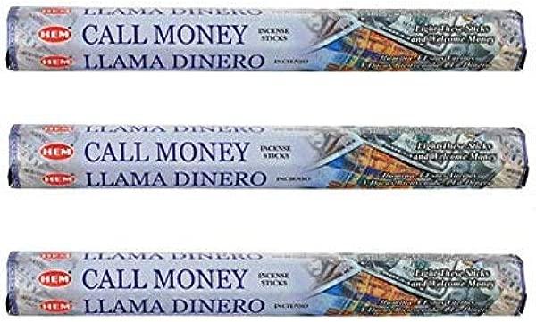 Hem Call Money 20 X 3 60 Incense Sticks